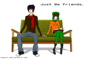 Just Be Friends. Stan X Kyle by Tashyx