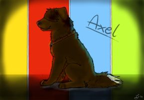 Axel as a DOG?? by TheCookylee