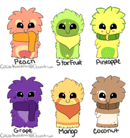 Scarfblob Adopts-Batch 6-ALL GONE by dayylights