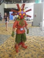 Otakon 2013 - Skull Kid by mugiwaraJM