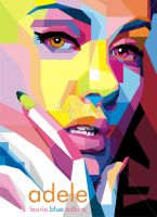 adele in WPAP by sangpendosa