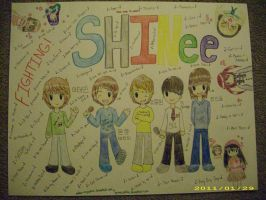 SHINee Kpop Poster by Endless-Inspiration