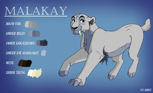 Malakay Ref. by Carly707
