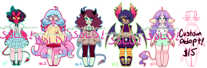 Monster Girl Adopts! CLOSED! by rap1993