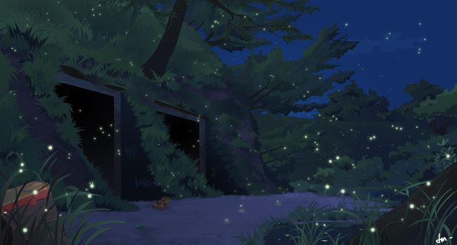 The grave of the fireflies by Rammoth