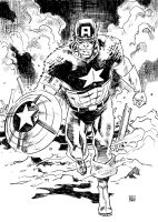 Captain America by deankotz