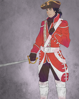 Redcoat- No shading by Blobbott