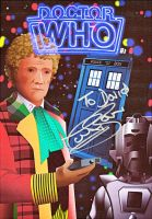 Signed  Doctor Who poster - Colin Baker by zentron