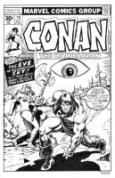 Conan 79 Cover Recreation by dalgoda7