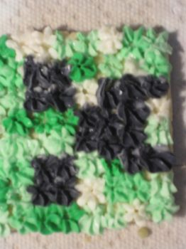 Creeper cookie by that1p3rson