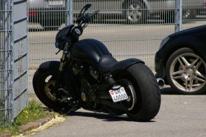 Harley Davidson Motorcycle by ShadowPhotography
