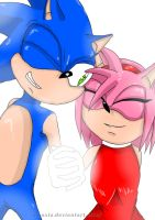 Sweet Rose... -SonAmy- by Naoxia