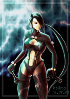 Shura : Gantz mode by TheOBlade