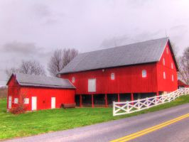 Structures On The Farm by jim88bro