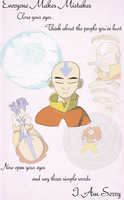 I Am Sorry - ATLA by anatglo100
