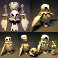 Jointed Figures - Owl by fightingferret