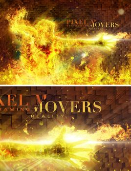 Pixel TV - Pixel Movers by randallchurch
