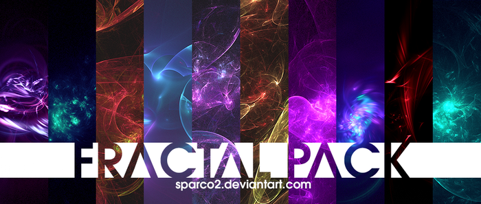 Fractal Pack #1 by sparco2