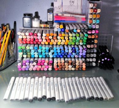 [NEW!!] My copics [NEW!!] by 8bit-Mau5