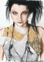 Amy Lee portrait by Hanatsuki89