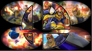 Ready to Smash: Captain Falcon by Kirby-Kid