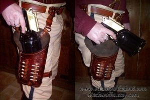 Deluxe Maverick Holster by Steampunked-Out