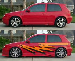 Red Hot GTI by fastworks