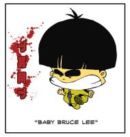 Baby Bruce Lee by LuisFe87