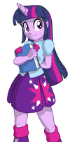 MLP:EQ - Twilight Sparkle by kevinxnelms
