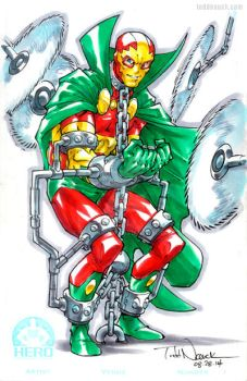 Mister Miracle by ToddNauck