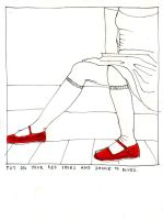 .put on your red shoes. by xiezniczka-fanaberia