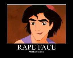 Aladdin Rape Face by emmie-chan281
