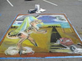 Chalk art for 2014 chalk art contest. by kkrex