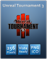 Unreal Tournament 3 Vista Icon by Th3-ProphetMan