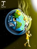 damage to the ozone layer by JORGEMUR