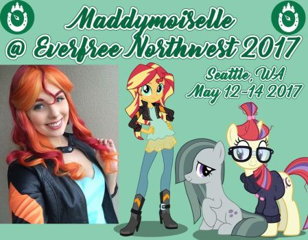 Everfree Northwest Cosplay Announcement! by Maddymoiselle