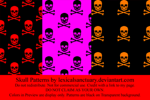 Skulls - Patterns by lexicalsanctuary
