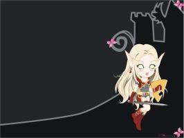 bloodelf-paladin-wallpaper by cocoasweety