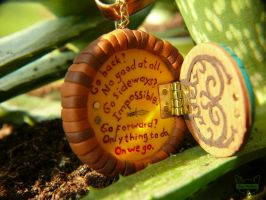 Hobbit charm - inside by Fox-Populi