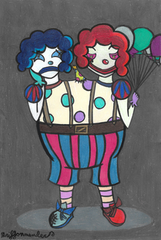 Two-Headed Clown by Griffonmender