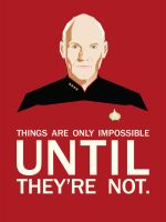 Picard about the impossible by CherryflavouredAcid