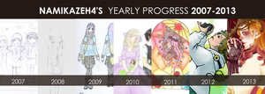 2007-2013 by NamikazeH4