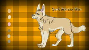 Sparks Reference Sheet 2014 + Speed Paint by MorningAfterWolf
