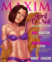 Maxim Cover : April O' Neil by ChanJP