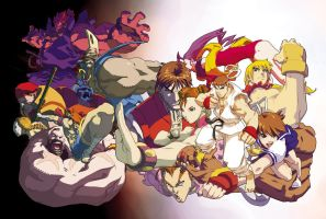 Street Fighter Alpha DVD by UdonCrew