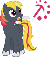 MLP Vector: Demmy Digger by outlaw4rc