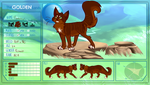 Flarepaw TGL |Lightclan Med. Cat Apprentice by cuddlef1sh