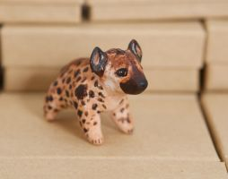 Spotted hyena totem by lifedancecreations