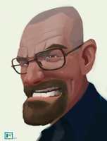 I am the one who knocks -2015 by CurroHerrero