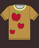 Apple Jack T-Shirt by Couch-and-Canvas